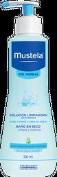 Mustel Solución Limpiadora Sin Enjuague para Piel Normal