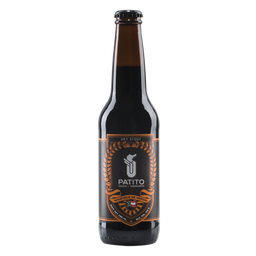 Cerveza Patito Dry Stout Botella de 355 mL