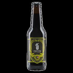 Cerveza Patito Porter Vainilla Botella de 355 mL