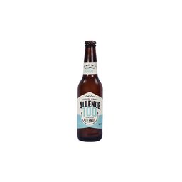Cerveza Artesanal Allende Lager Light 100 Botella 355 mL