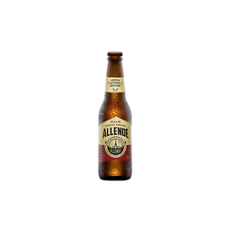 Cerveza Artesanal Allende Brown Ale Botella 355 mL