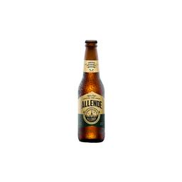 Cerveza Artesanal Allende Agave Lager Botella 355 mL