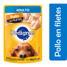 Alimento Para Perro Pedigree Pollo 100 g