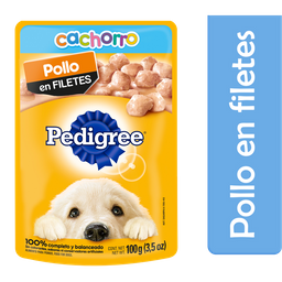Alimento Para Perro Pedigree Pollo Res 100 g