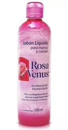 Jabón Líquido Rosa Venus 500 mL