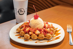 Waffle Pink Berry
