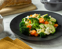 Verduras Al Vapor Sencillas