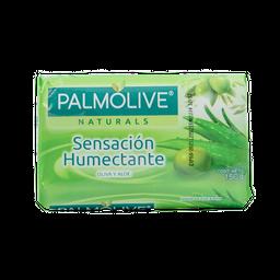 Jabón En Barra Sensación Humectante Oliva Y Aloe Palmolive 150 G