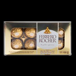Chocolate Con Relleno De Avellanas Ferrero Rocher Caja 8Pz