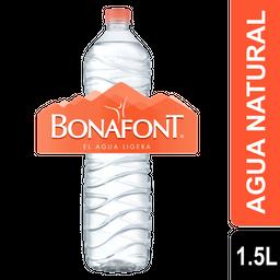 Agua Natural - Bonafont - Botella 1500 Ml