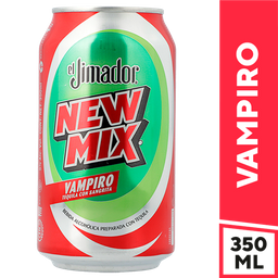 New Mix Vampiro Tequila Con Sangrita - El Jimador - Lata 350 Ml