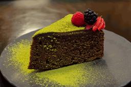Pastel de Chocolate y Matcha