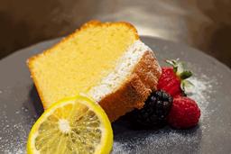 Pastel de Yuzu con Aceite de Oliva