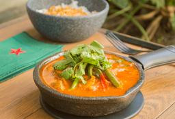 Jitomate Curry Vegetal