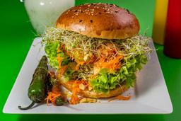 Hamburguesa Vegana Venezolana