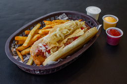 Hot Dog Bacon Cheese