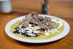 Chilaquiles Salsa Poblana