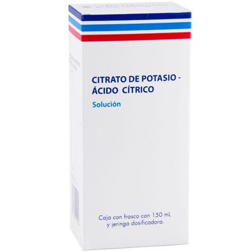 Comprar Acido Cítrico y Citrato de Potasio Solución