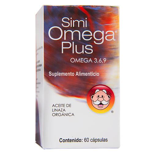 Comprar Suplemento Alimenticio Simi Omega 3, 6, 9 Plus 60 Capsulas