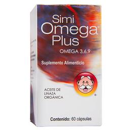 Suplemento Alimenticio Simi Omega 3, 6, 9 Plus 60 Capsulas