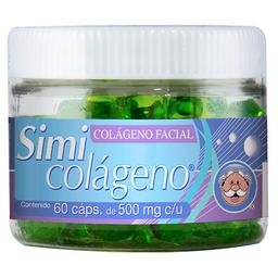 Colágeno Facial 60 Capsulas (500 mg)