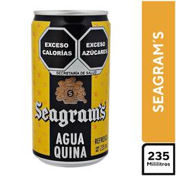 Seagram´s Agua Quina 235 ml