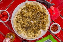 Pan de Pizza con Parmesano