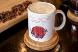 Hot raspberry chai