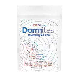 Gomitas 100mg CBD Dormitas