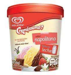 Helado Micha Napolitano