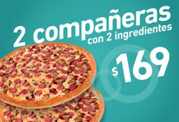 Promo 2 Pizzas Compañeras