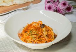 Espagueti Salsa Mariscos
