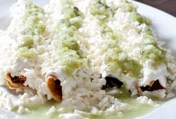Menú Completo con Tacos Dorados
