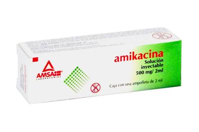 Comprar Amikacina (500 Mg/2 Ml)