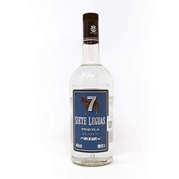 7 Leguas Tequila Blanco Litro