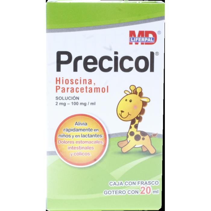 Comprar Hioscina/paracetamol 2/100mg Sol