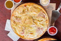Pizza de Provoleta con Panceta