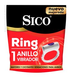 Anillo vibrador Sico Ring Placer intenso 1u