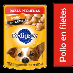 Alimento Para Perro Pedigree Pollo AduLo Razas Pequeñas 100 g