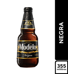 Cerveza Negra Modelo 355 ml