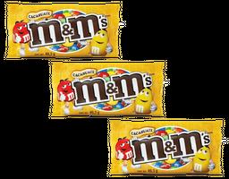 3 M&M Chocol Cacahuate 49.3g