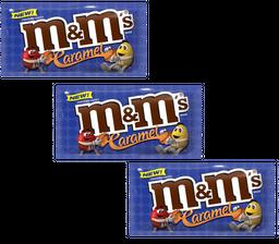 3 M&M Chocol Caramel 40g