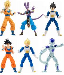 """Figura Dragon Ball Super 6.5"""" Surtido"""