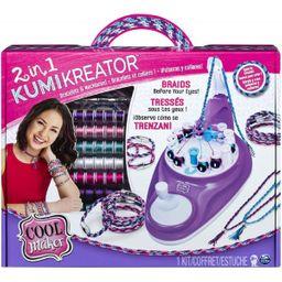 Kit Cool Maker Creador de Pulseras Estudio Kumi 2 en 1