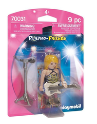 Figura Armable Playmobil Estrella de Rock 9 U
