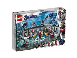 Set de Construcción Lego Iron Man: Salón de Armadura 524 U