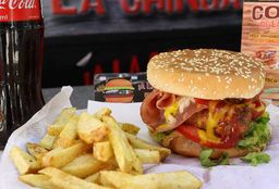 Hamburguesa a la Chingada