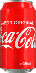 Coca-Cola en Lata 355 Ml