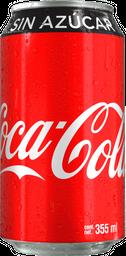 Coca-Cola sin Azucar en Lata 355 Ml