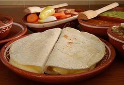 Quesadillas con Chorizo